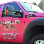 Chappelle's Towing Pink Truck